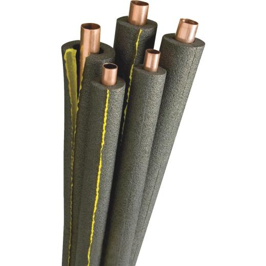 Tundra 1/2 In. Wall Self-Sealing Polyethylene Pipe Insulation Wrap, 1-1/2 In. x 6 Ft. Fits Pipe Size 1-1/2 In. Iron