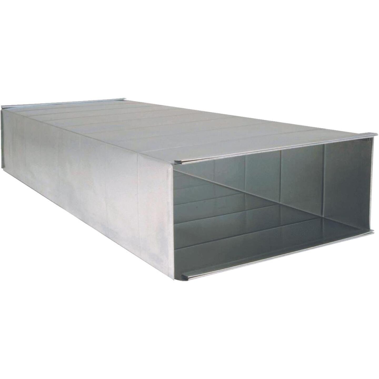 Imperial 30 Ga. 8 In. x 16 In. x 48 In. Galvanized Trunk Duct Image 1
