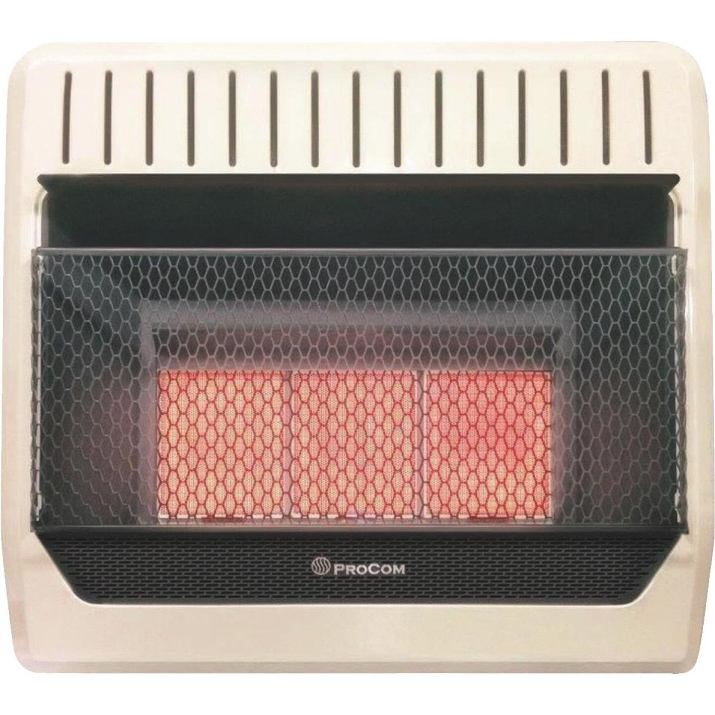 ProCom 30,000 BTU Natural Gas Vent-Free Infrared Plaque Gas Wall Heater Image 1