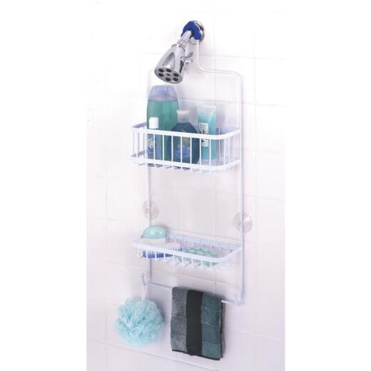 Zenith Steel 10-1/2 In. x 26 In. Shower Caddy