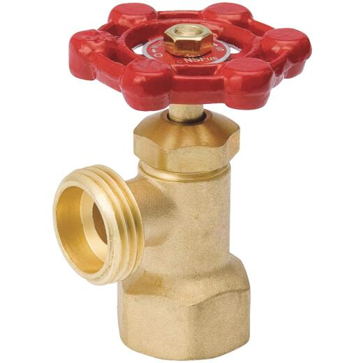 ProLine 3/4 FIP x 3/4 In. Hose Thread Brass Boiler Drain