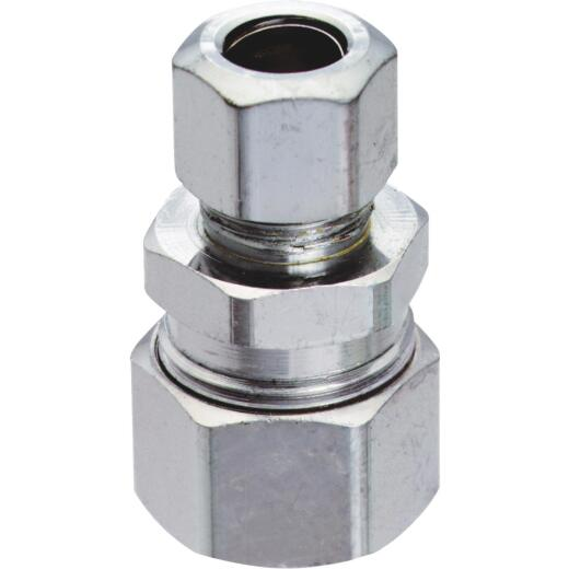 "Do it 3/8"" OD x 3/8"" or 1/2"" Tubes Single Lever Faucet Adapter (2-Pack)"