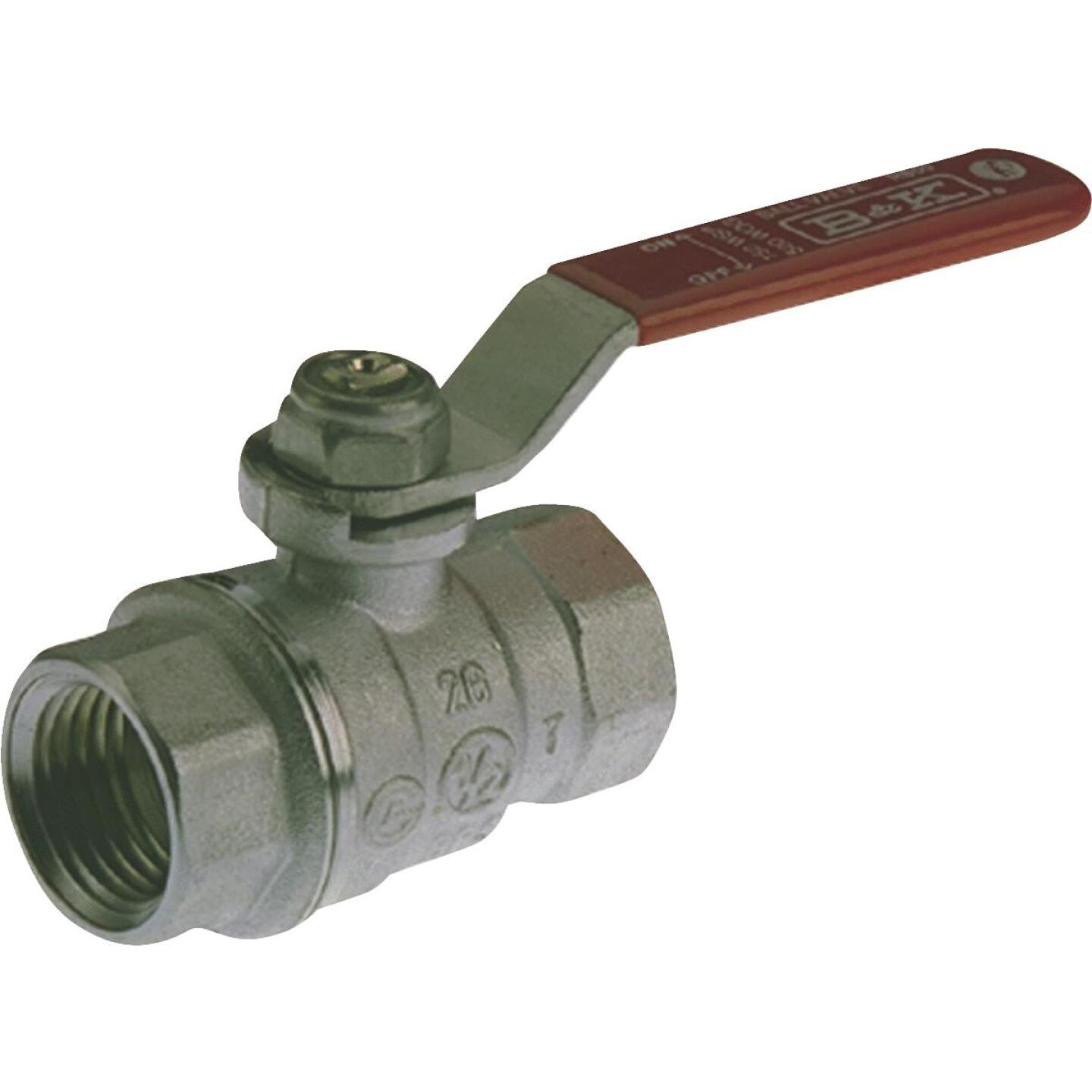 ProLine 3/4 In. FIP Fprged Brass Full Port Ball Valve Image 1