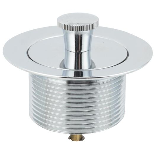 Do it 1-7/8 In. to 2-1/4 In. Lift and Lock Bathtub Drain Stopper with Chrome Finish