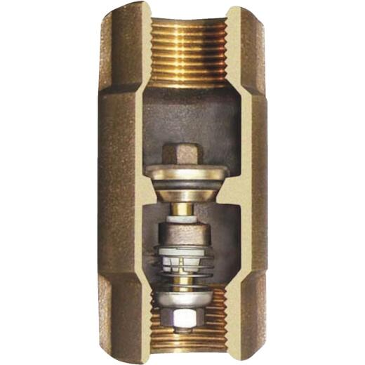 Simmons 1 In. Silicon Bronze Lead Free Check Valve