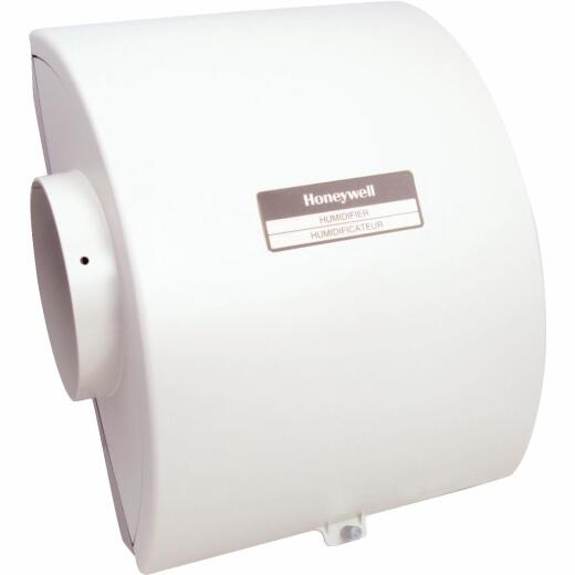 Honeywell 12.15 In. W. x 15.68 In. H. x 10.9 In. D. Whole House Flow-Thru Bypass Furnace Humidifier