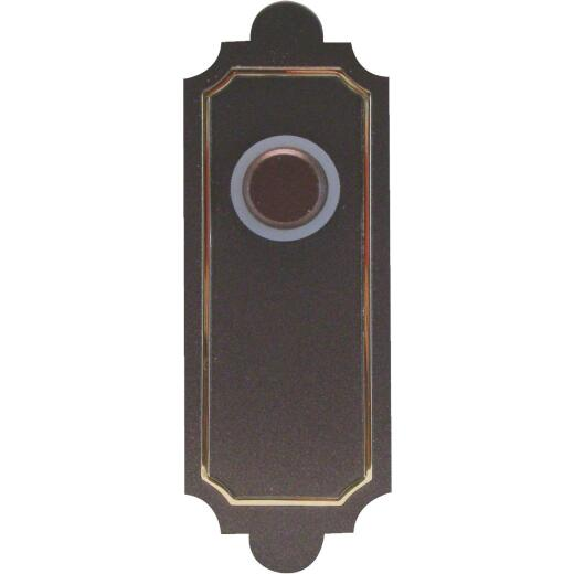 IQ America Wireless Antique Bronze Southwest Style Doorbell Push-Button
