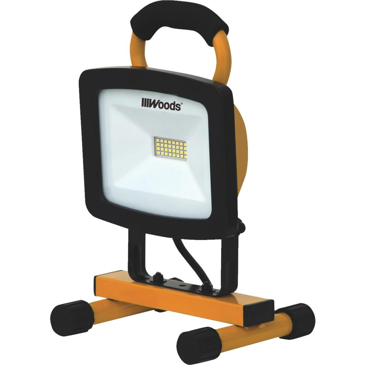 Woods 1500 Lm. LED H-Stand Portable Work Light Image 1