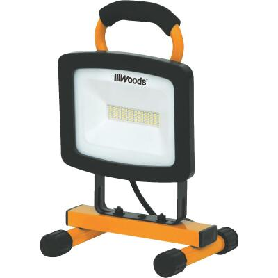Woods 4400 Lm. LED H-Stand Portable Work Light