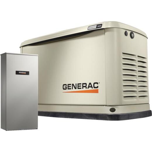 Generac Guardian WiFi 16,000W Natural Gas/LP Home Standby Generator with 200A Automatic Transfer Switch