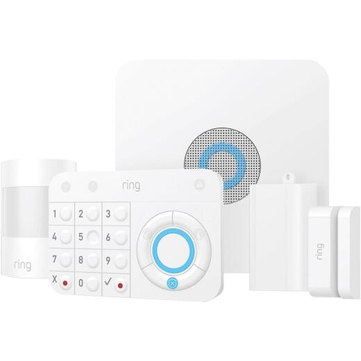 Ring Wireless Indoor White Motion Activated Alarm Kit