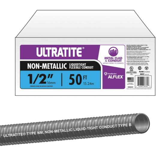 Southwire 1/2 In. x 50 Ft. Flexible Non-Metallic Liquid Tight Conduit