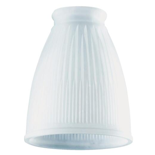 Westinghouse 5 In. Frosted Pleated Glass Shade