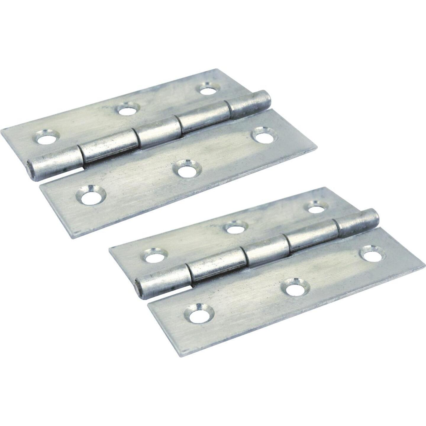 Seachoice 1-5/8 In. x 2-1/2 In. Stainless Steel Extruded Butt Hinge (2-Pack) Image 1