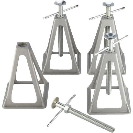 Camco Olympian 6000 Lb. Topwind Stabilizing Trailer Jack (4-Pack)