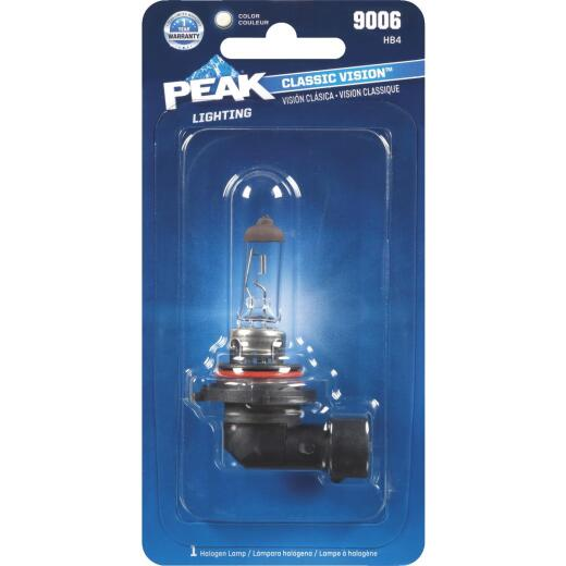 PEAK Classic Vision 9006 HB4 12.8V Halogen Automotive Bulb