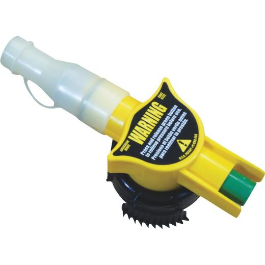 No-Spill 10-1/2 In. L Fuel Can Spout Replacement Nozzle Assembly