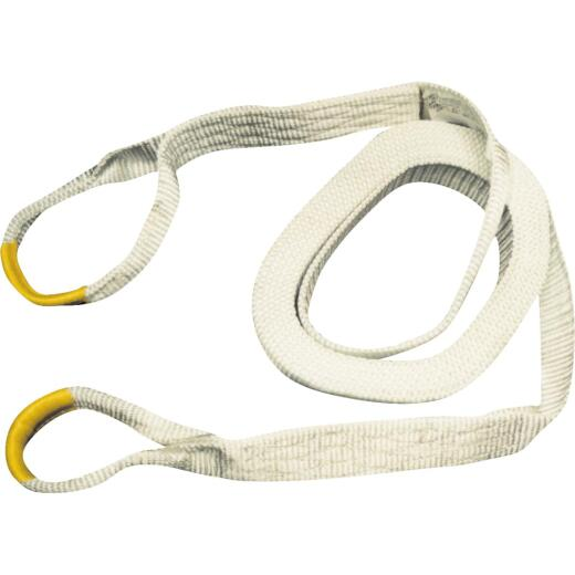 Erickson 2 In. x 20 Ft. 9000 Lb. Polyester Recovery Tow Strap, White