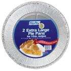 EZ Foil 9-11/16 In. Extra Large Pie Pan (2-Count) Image 1