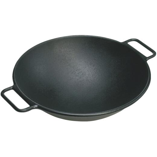 Lodge 14 In. Cast Iron Wok