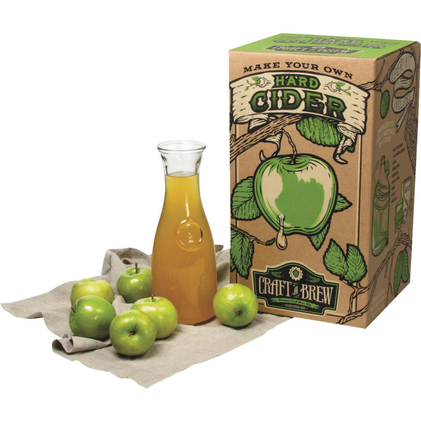 Craft A Brew Hard Cider Brewing Kit (10-Piece) Image 1