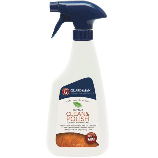 Guardsman 16 Oz. Woodland Fresh Anytime Clean & Polish for Wood Furniture