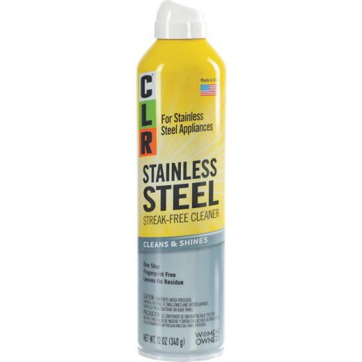 CLR 12 Oz. Stainless Steel Cleaner