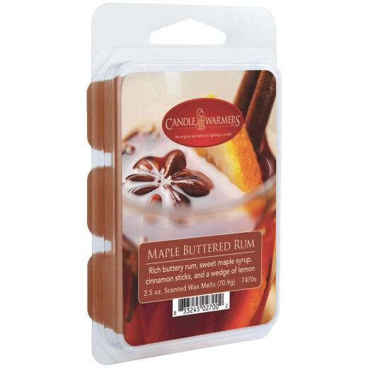 Candle Warmers 2.5 Oz. Maple Buttered Rum Wax Melt