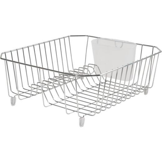 Rubbermaid 12.49 In. x 14.31 In. Chrome Wire Sink Dish Drainer