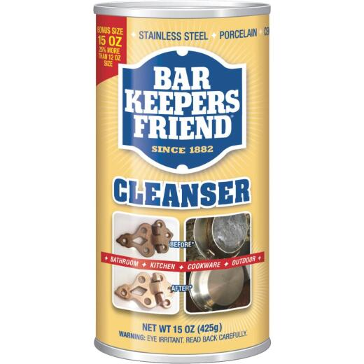 Bar Keepers Friend 15 Oz. Cleanser and Polish
