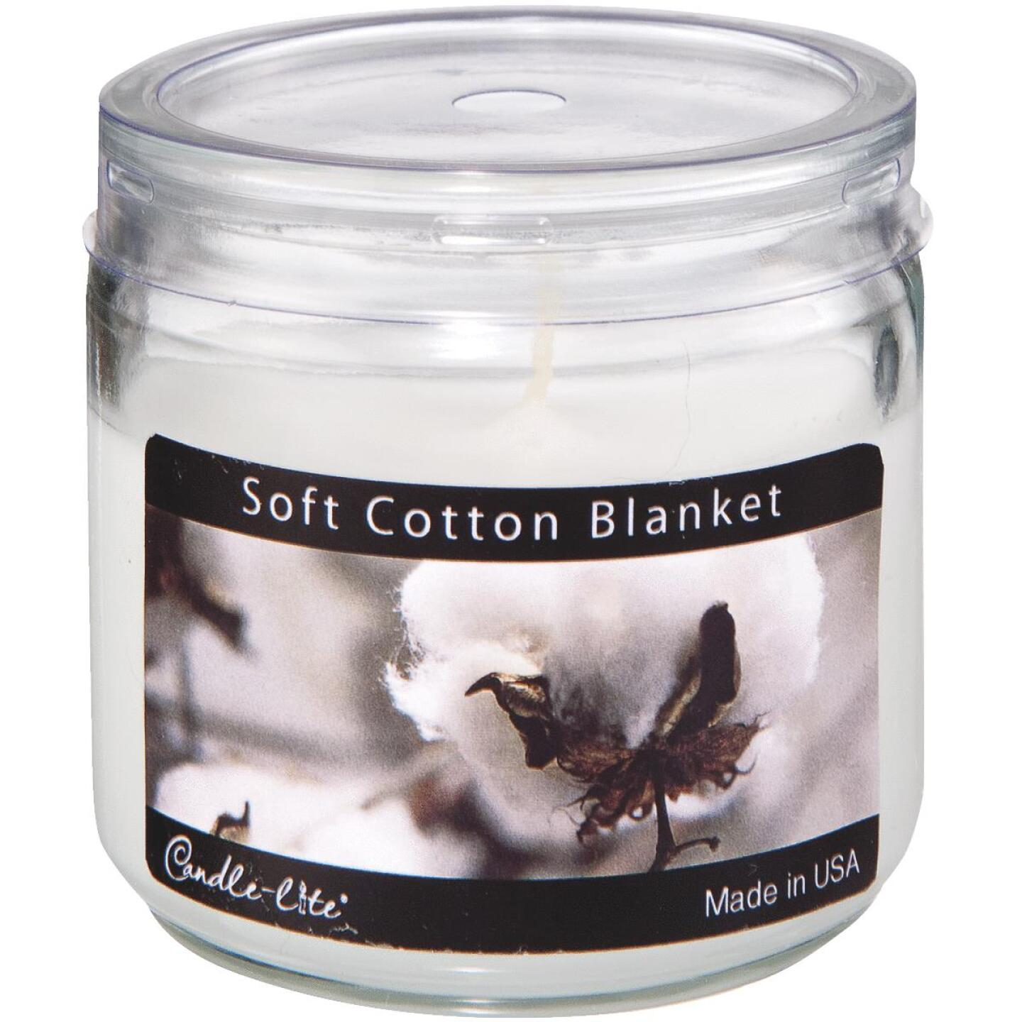 Candle-Lite Everyday 3.5 Oz. Soft Cotton Blanket Jar Candle Image 1