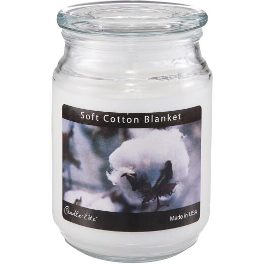 Candle-Lite Everyday 18 Oz. Soft Cotton Blanket Jar Candle