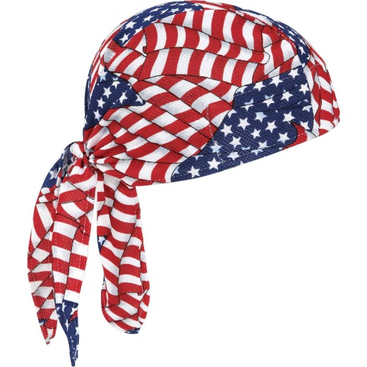 Ergodyne Chill-Its Stars & Stripes Dew Rag