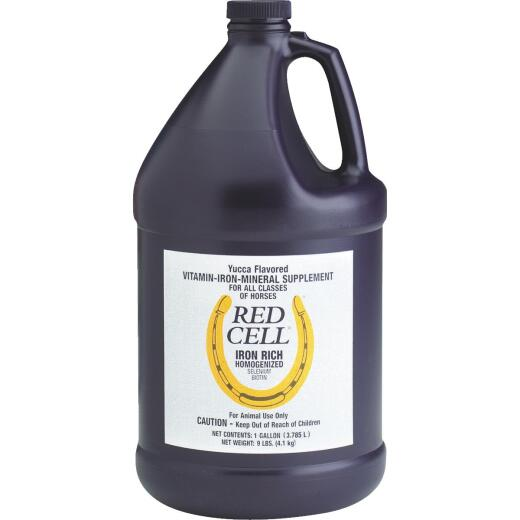 Farnam 1 Gal. Red Cell Horse Feed Supplement