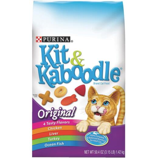Purina Kit & Kaboodle Complete Balance 3.15 Lb. Adult Cat Food