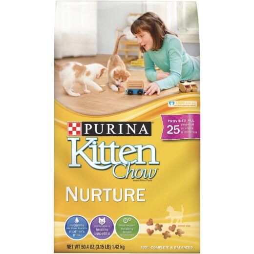 Purina Kitten Chow Complete Balance 3.15 Lb. Kitten Cat Food
