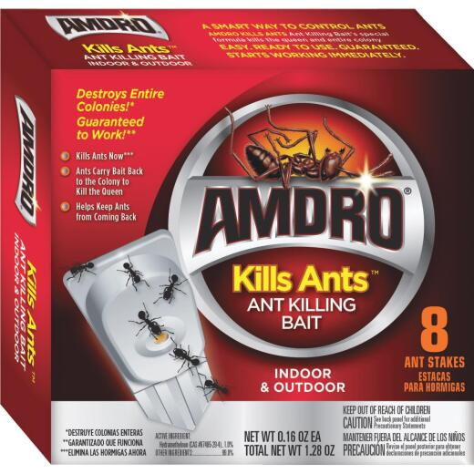 Amdro 1.28 Oz. Solid Ant Bait Stake (8-Pack)