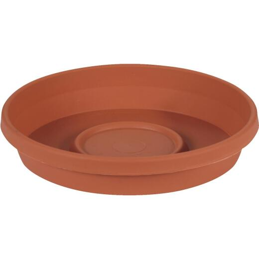 Bloem 6 In. Terracotta Poly Classic Flower Pot Saucer