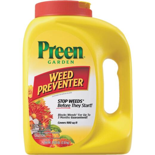 Preen 5.625 Lb. Ready To Use Granules Garden Weed Preventer