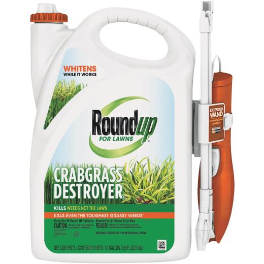 Roundup For Lawns 1 Gal. Wand Sprayer Crabgrass Destroyer