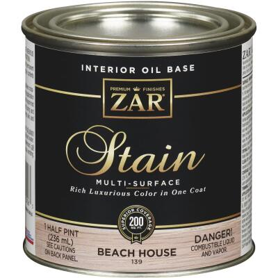 ZAR Oil-Based Wood Stain, Beach House, 1/2 Pt.