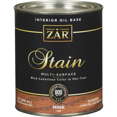 ZAR Oil-Based Wood Stain, Mink, 1 Qt.