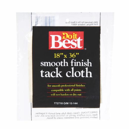 Do it Best 18 In. x 36 In. Tack Cloth