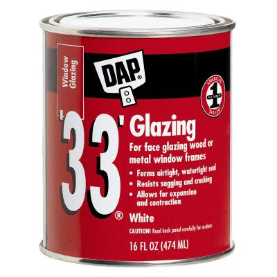 DAP 33 16 Oz. Glazing Compound