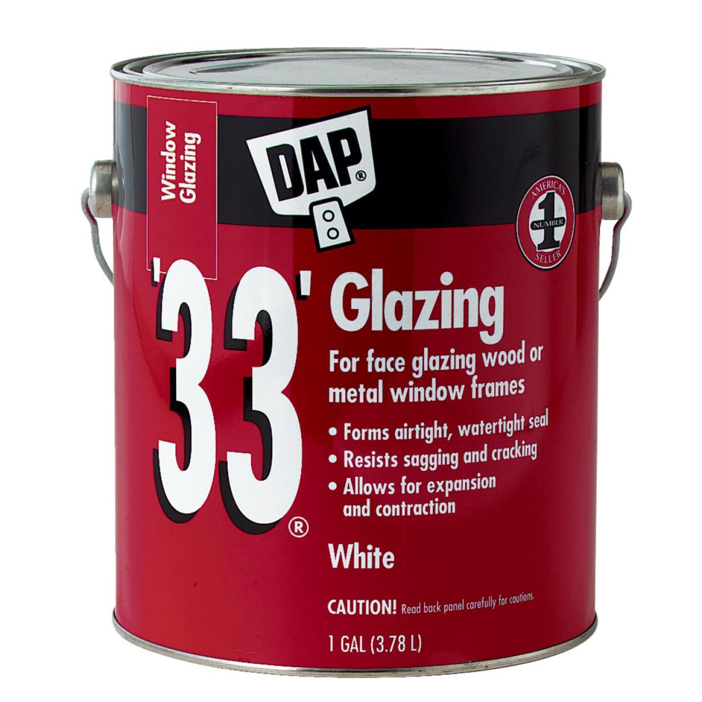 DAP 33 1 Gal. Glazing Compound Image 1