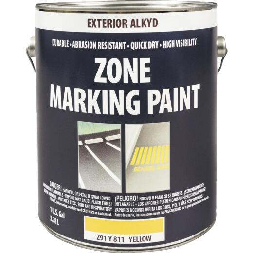 Do It Best Yellow Alkyd-Oil Base Gallon Traffic Paint