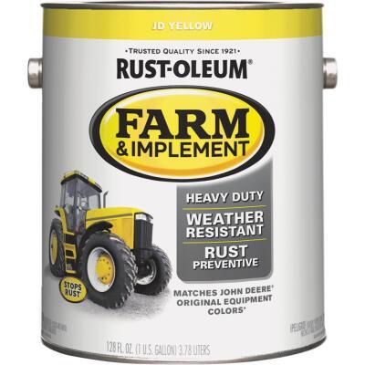 Rust-Oleum 1 Gallon JD Yellow Gloss Farm & Implement Enamel