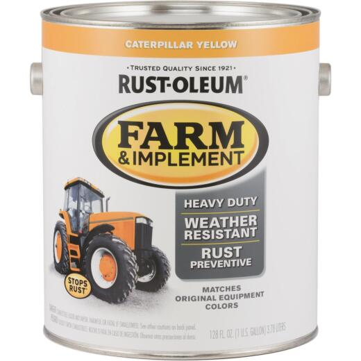Rust-Oleum 1 Gallon Caterpillar Yellow Gloss Farm & Implement Enamel