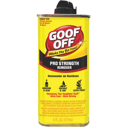 Goof Off 6 Oz. Can Pro Strength Dried Paint Remover