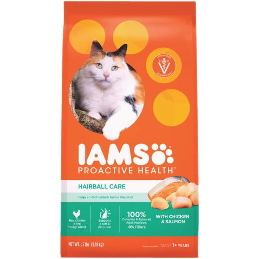 Iams Hairball Care 7 Lb. Adult Cat Food